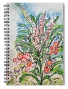 Snap Dragons Spiral Notebook