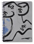Sneaky Detail Spiral Notebook