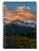 Sneffels Autumn Sunrise Spiral Notebook