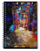 Snickelway Of Light Spiral Notebook