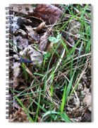Snipe In Camouflage Spiral Notebook