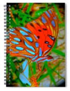 Snooty Butterfly Spiral Notebook