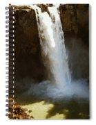 Snoqualmie Falls Washington Spiral Notebook