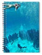 Snorkeling  Spiral Notebook