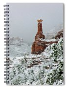 Snow 06-027 Spiral Notebook