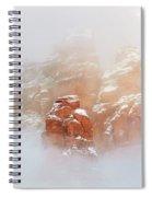Snow 07-099 Spiral Notebook