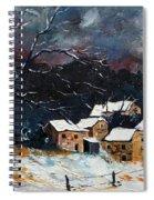Snow 57 Spiral Notebook