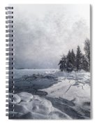 Snow And Ice  Spiral Notebook