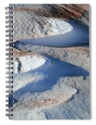 Snow And Sand Spiral Notebook