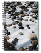 Snow And Stone Spiral Notebook