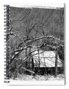 Snow Barn Spiral Notebook