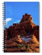 Snow Bell Spiral Notebook