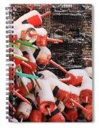 Snow Bouys 2 Spiral Notebook
