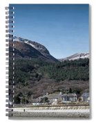 Snow Capped Mourne Mountains Spiral Notebook