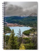 Snow Coming Spiral Notebook