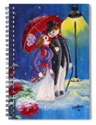 Snow Couple Spiral Notebook