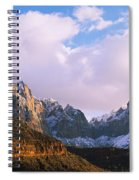 Snow Covered Mountain Range, The Spiral Notebook