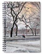 Snow Day On 5th Avenue Spiral Notebook