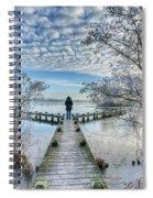Snow Fantasy Spiral Notebook