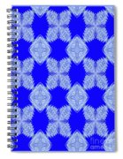 Snow Flakes In May Spiral Notebook