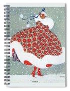 Snow Girl Spiral Notebook