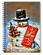 Snow Globe Spiral Notebook