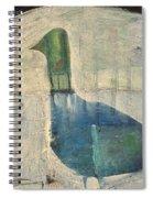 Snow Goose Spiral Notebook