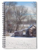 Snow In Plymouth Meeting Spiral Notebook