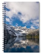 Snow Lake Vista Spiral Notebook
