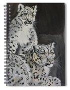 Snow Leopards Spiral Notebook