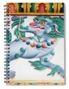 Snow Lion Spiral Notebook