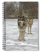 Snow Mates Spiral Notebook