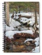 Snow Melt Spiral Notebook