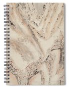 Snow Mountain Ink Painting Spiral Notebook
