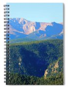Snow On Pikes Peak Spiral Notebook
