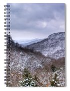 Snow On The Mesa Spiral Notebook