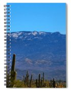 Snow On The Mountain Spiral Notebook