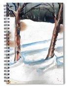 Snow Orchard Spiral Notebook