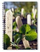 Snow Peas Please Spiral Notebook