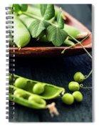 Snow Peas Or Green Peas Still Life Spiral Notebook