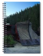 Snow Plow Spiral Notebook
