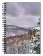 Snow Remoteness Spiral Notebook