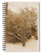 Snow Scene Spiral Notebook