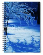 Snow Shadows Spiral Notebook