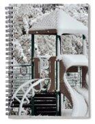 Snow Slide Spiral Notebook
