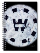 Snow Spirit Spiral Notebook