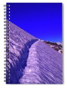 Snow Trail  Spiral Notebook