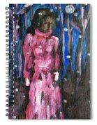 Snow Walk Spiral Notebook