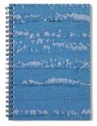 Snow Wall Art Spiral Notebook