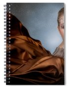 Snow Warrior Spiral Notebook